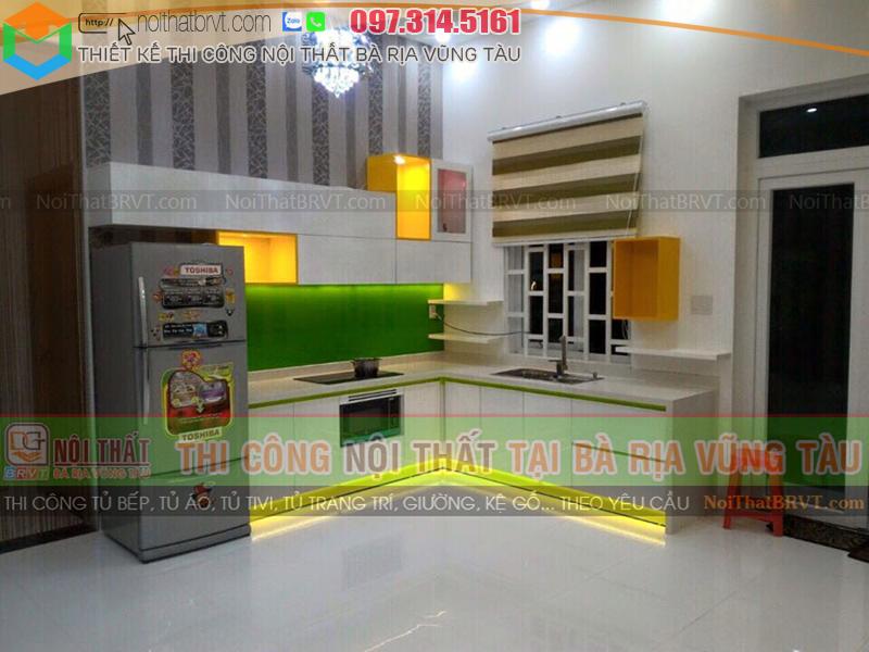 Nội Thất BRVT chuyên thiết kế thi công tủ bếp gỗ Vũng Tàu chất lượng cao