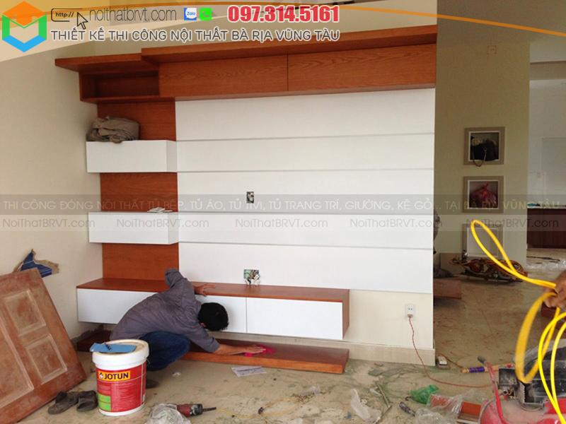 Nội Thất BRVT là đơn vị thiết kế thi công nội thất gỗ tại Vũng Tàu