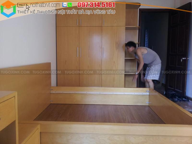 Thi công đồ gỗ nội thất chung cư ở Vũng Tàu