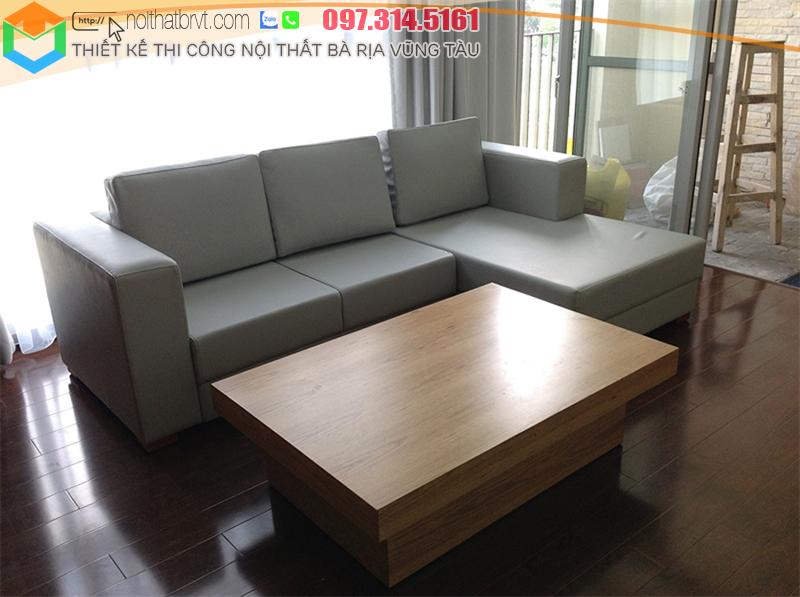 Thiết kế nội thất phòng khách cho căn hộ tại Vũng Tàu