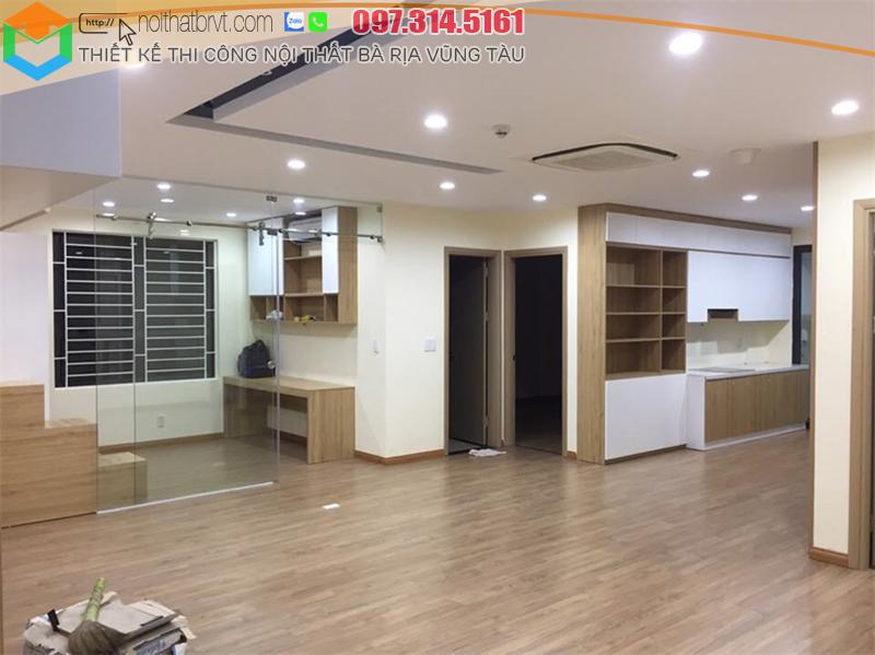Thiết kế nội thất phù hợp cho căn hộ tại Bà rịa, Vũng Tàu