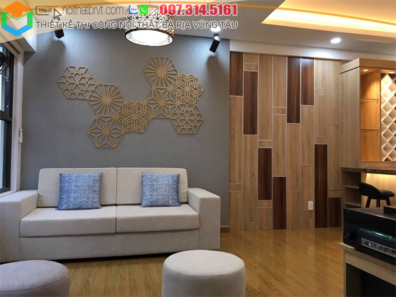 Thiết kế thi công nội thất biệt thự tại Vũng Tàu