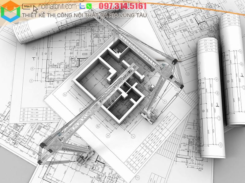 Thiết kế thi công xây dựng nhà ở Bà Rịa Vũng Tàu